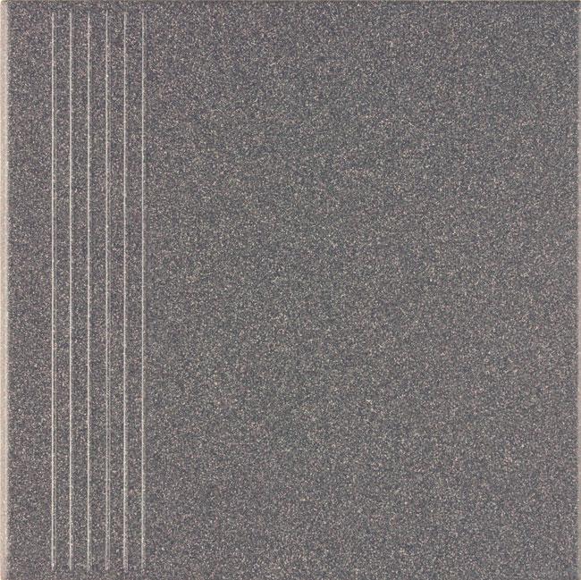 Ural | Treppenstufe anthrazit glatt